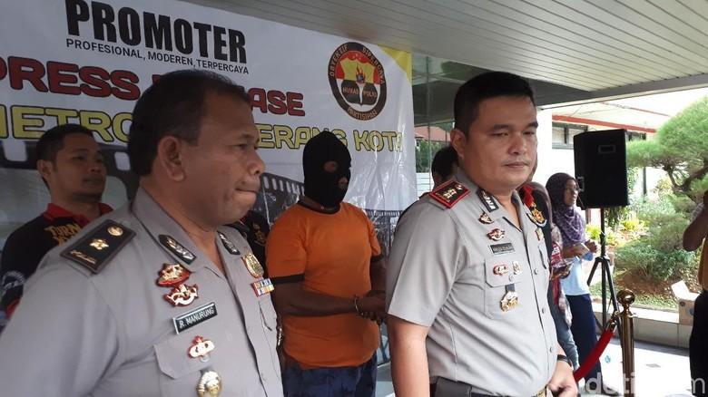 Aniaya Pedagang Pasar di Tangerang, Ompong Ditangkap Polisi