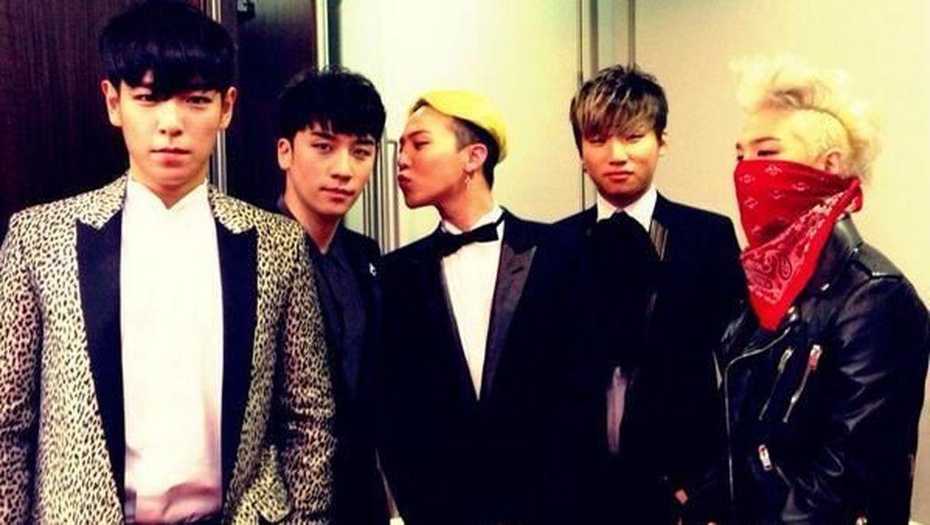 BIGBANG Party Bareng Sebelum G-Dragon dan Taeyang Wamil