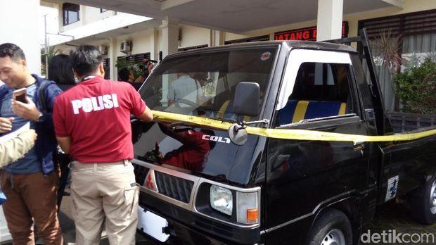 Kawanan Pencuri Spesialis Mobil Pikap Dibekuk di Ungaran