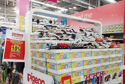 Diskon hingga 50% Sepatu dan Alat Makan Anak di Transmart Carrefour