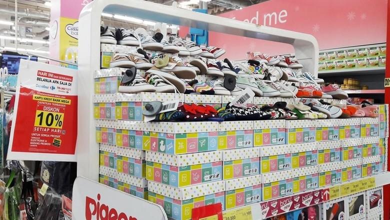 Foto: Promo sepatu anak di Transmart Carrefour (Dok. Transmart Carrefour)