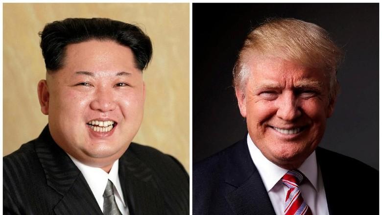 Balas Kim Jong-Un, Trump: Saya Juga Punya Tombol Nuklir Lebih Besar