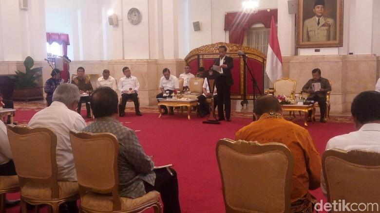 Bertemu Jokowi, Raja Kupang Curhat soal Laut Timor