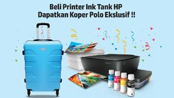 Awal Tahun, Beli Printer HP Gratis Koper Polo di Transmart Carrefour