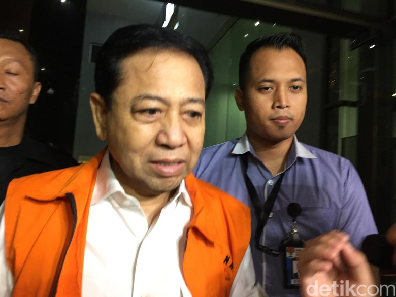 KPK: Ingin Jadi Justice Collaborator, Novanto Harus Akui Korupsi