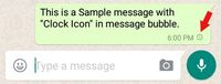 Apa Arti Tanda Jam di Pesan WhatsApp?