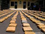Kapolri akan Beri Reward ke Pengungkap 1,3 Ton Ganja di Jakbar