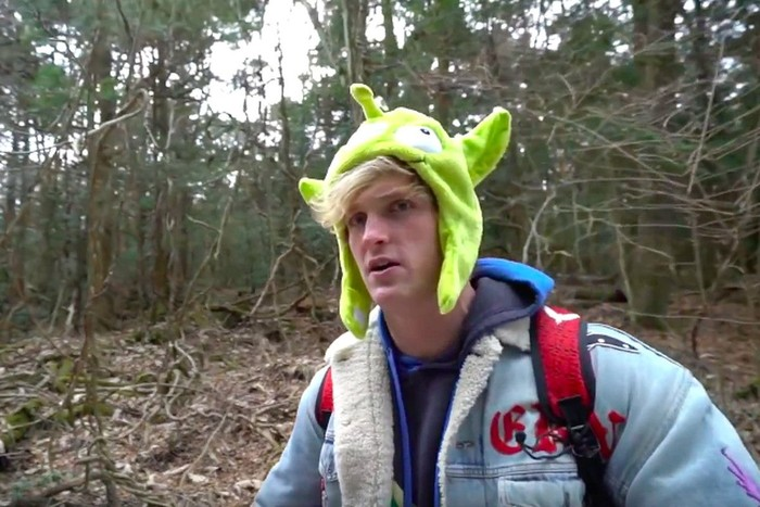 Logan Paul. Foto: (Youtube)