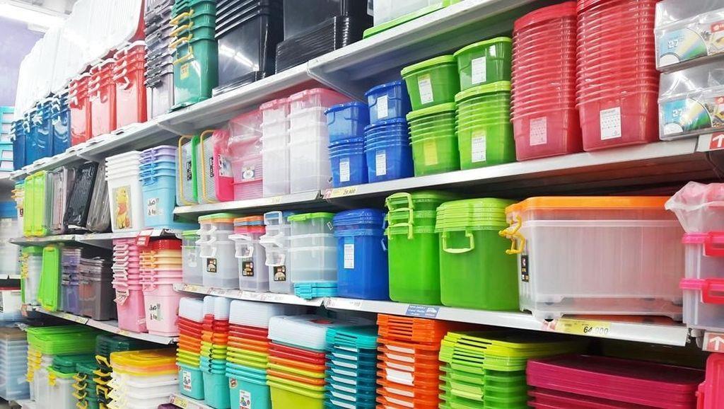 Diskon Awal Tahun Rak & Kotak Penyimpanan di Transmart Carrefour