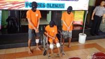 Curi 3 Mobil, Kakak Beradik Residivis Dibekuk Polisi di Sleman