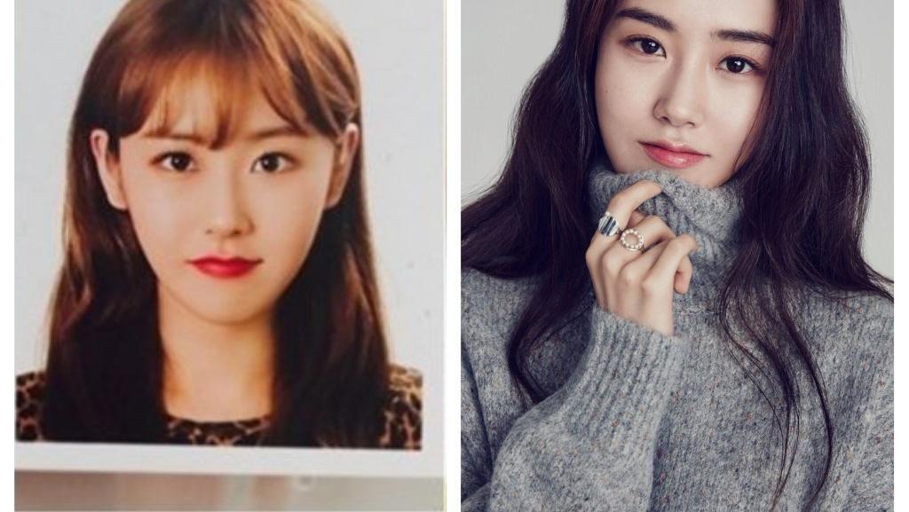 Foto: 10 Wajah Asli Artis Cantik Korea di Foto Paspor