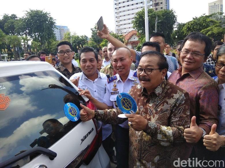Di Surabaya, Baru 282 Taksi Online yang Lakukan Uji KIR