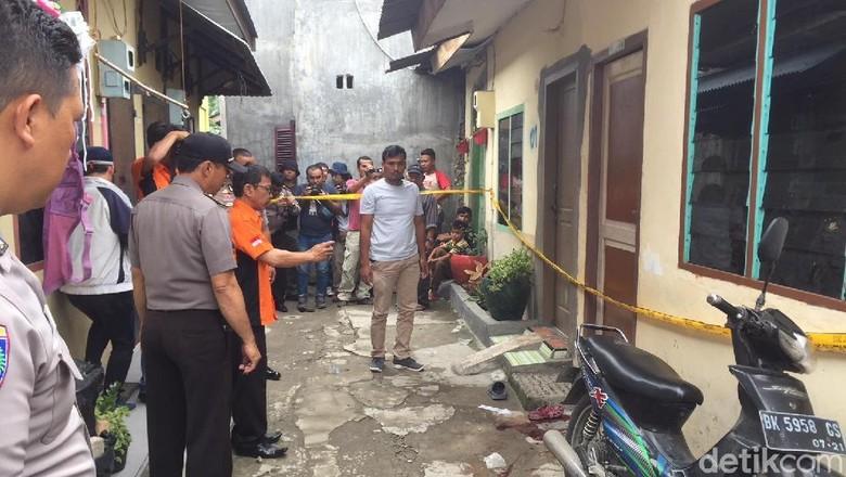 Diduga Selingkuh, Suami Ditikam Istri hingga Tewas di Medan