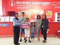 Bahagianya Keluarga Pemenang Road Trip 19 Tahun Transmart Carrefour