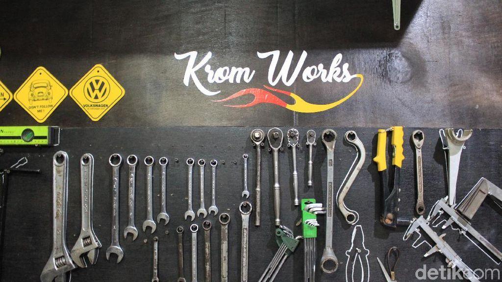 Krom Works, Lihai Menyulap Motor Sejak 90-an
