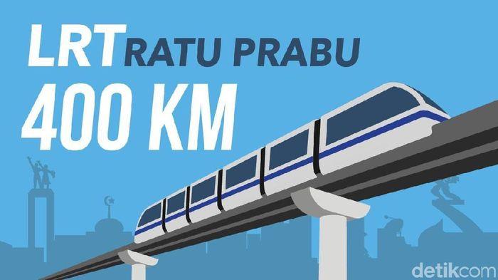 Sandiaga-Ratu Prabu Bangun LRT Rp 405 Triliun