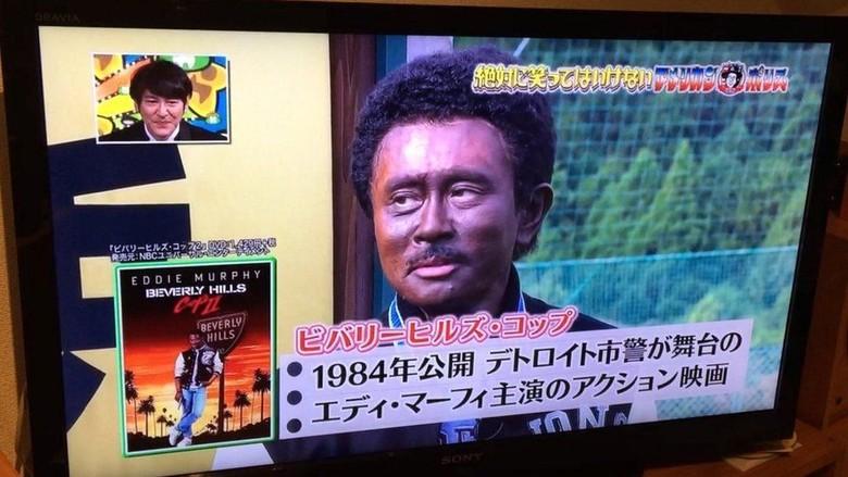 Wajah Pelawak Diwarnai Hitam, Acara TV Jepang Picu Kemarahan
