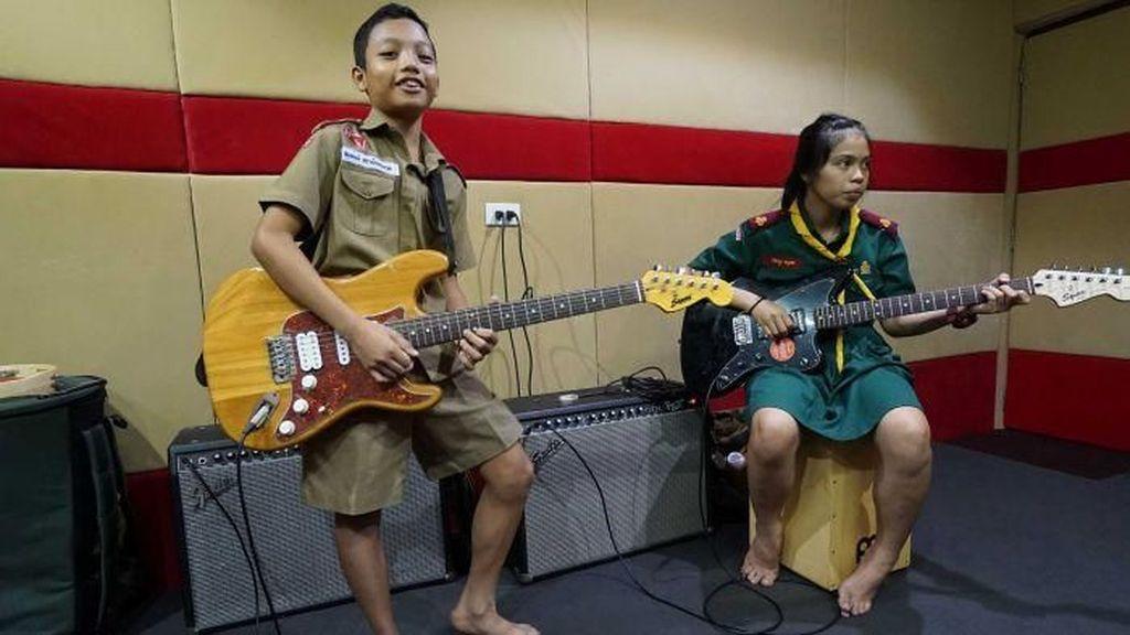 Pelajaran Musik dan Kehidupan Bagi Anak Kurang Beruntung