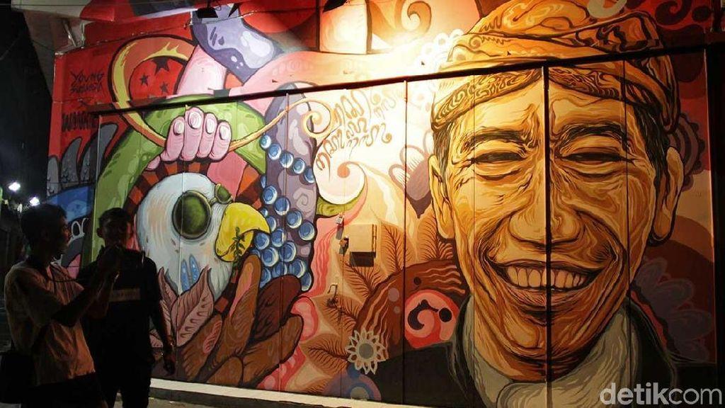 Akhir Pekan di Solo, Berburu Mural Jokowi Hingga Kurt Cobain