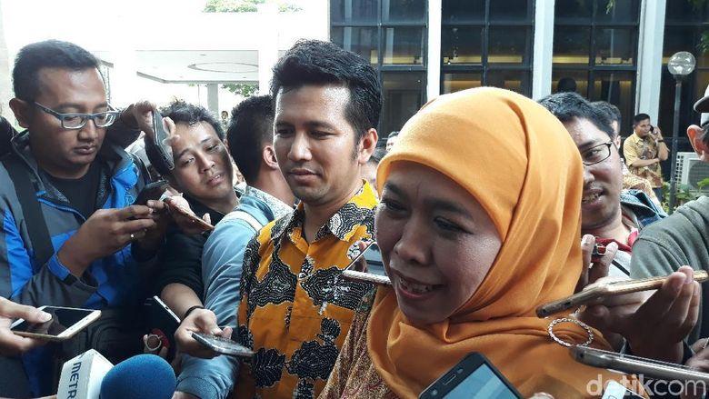 Tiba di DPP Golkar, Khofifah-Emil Siap Terima Rekom Pilgub Jatim