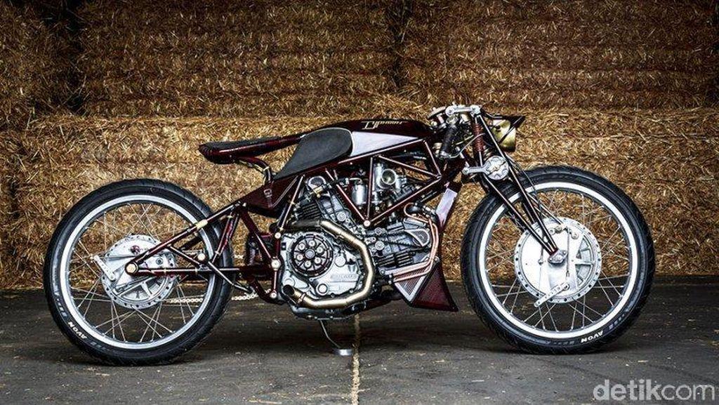 Motor Jadul Ducati Ini Cantik dan Keren