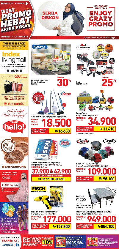 Aneka Potongan Harga Mainan Anak di Transmart Carrefour
