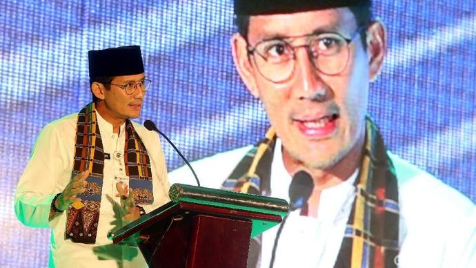Wagub DKI Sandiaga Uno Hadiri Peluncuran Asuransi Askrida