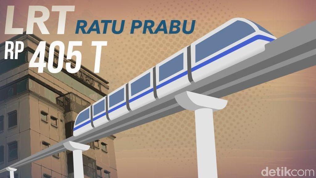 Lapor BEI, Ini Alasan Ratu Prabu Mau Bangun LRT Rp 405 Triliun