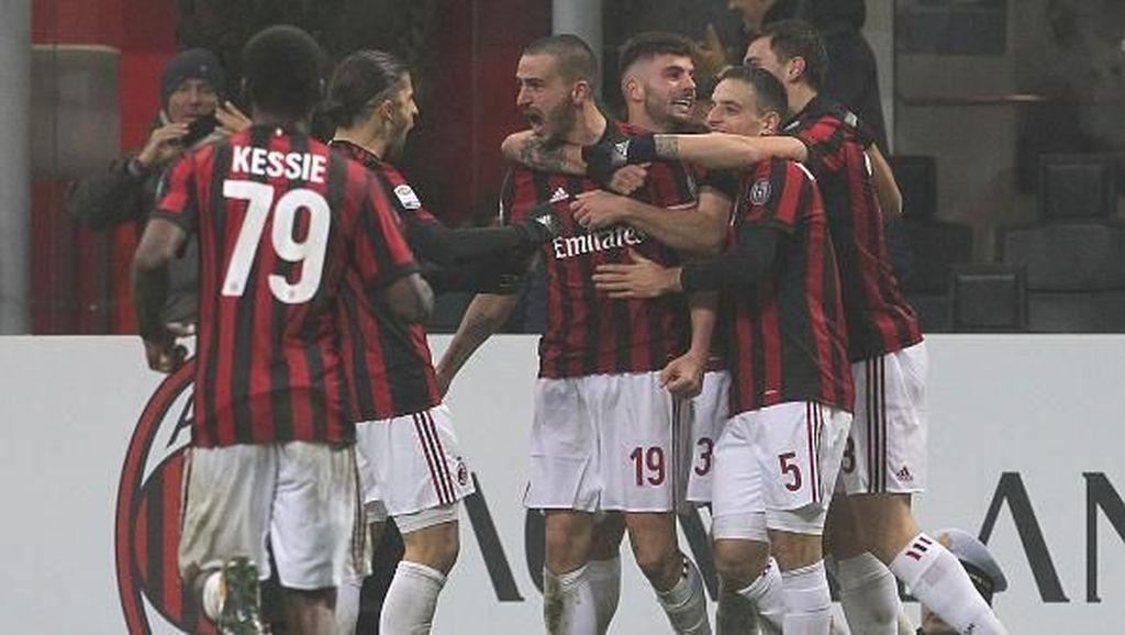 Gol Tunggal Bonucci Menangkan Milan atas Crotone