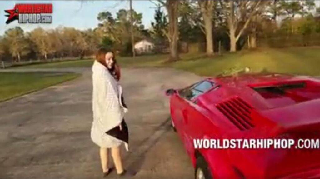 Konyol, Dikasih Lamborghini Gadis Ini Malah Marah