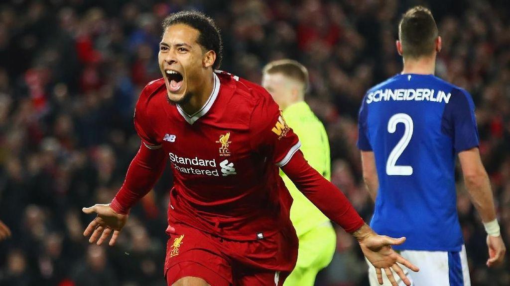 Van Dijk Akan Menjamin Posisi Empat Besar untuk Liverpool