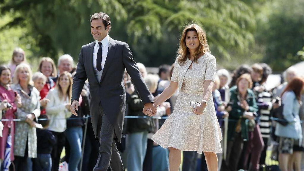 Lucunya Dua Pasang Kembar Putra Putri Federer dan Mirka
