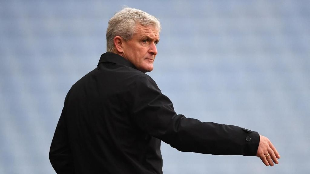 Stoke City Pecat Mark Hughes