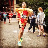 Wah, Enaknya Bisa Lari Marathon dan Makan Pizza!