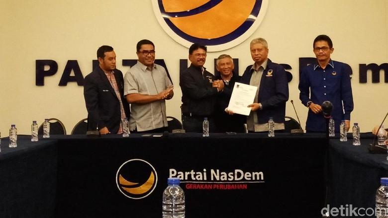 Nasdem Usung Burhan-Ishak untuk Pilgub Maluku Utara 2018