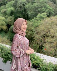 Saat Ayana Jihye Moon di kawasan Bandung