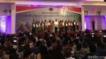 Jokowi: Tahun ini 7 Juta Sertifikat Harus Keluar dari Kantor BPN