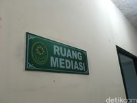 Ruang mediasi di PN Jakarta Utara
