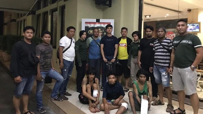 Polisi Tangkap 3 Bandit Sadis di Tanjung Priok