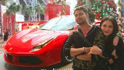 Liburan Raffi Ahmad dan Gigi Bermain di Ferrari World