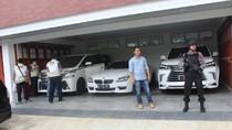 16 Mobil Mewah-Moge Bupati HST Tiba di Tj Priok