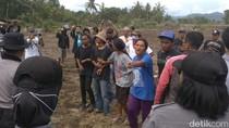 Momen Menegangkan Kericuhan Pembebasan Lahan Bandara Kulon Progo