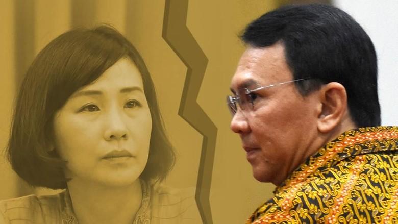 Pihak Vero Tak Hadir, Sidang Perdana Cerai Ahok Ditunda