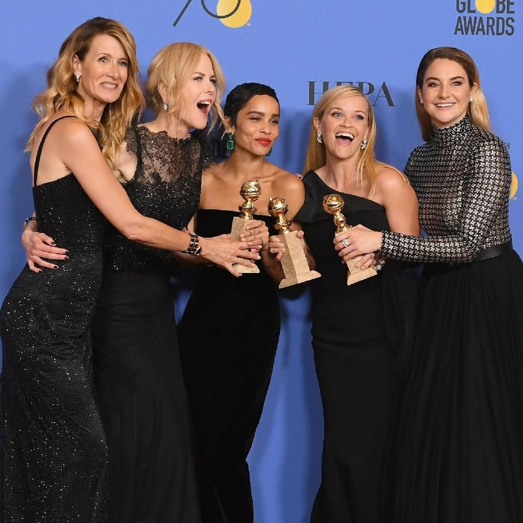<i>Happy Women</i>! Tawa Para Aktris Cantik Bintang Big Little Lies
