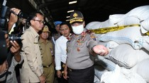 Polda Kalsel Amankan 18.000 Kg Beras Bulog Oplosan Siap Edar