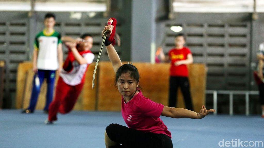 Menuju Asian Games 2018, Atlet Wushu Terus Berlatih
