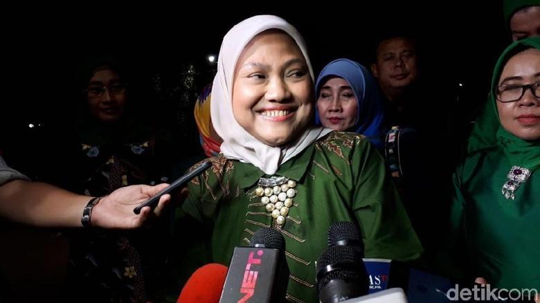 Prabowo dan Presiden PKS Sambut Ida Fauziyah Jadi Cawagub Sudirman