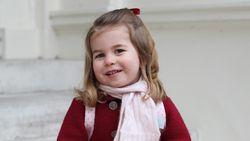 Di Usia Empat Tahun, Putri Charlotte Sudah Bicara Dua Bahasa
