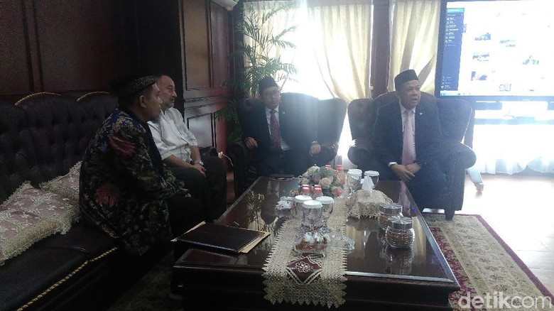 Utusan Hamas Bertemu Fadli-Fahri, Puji Sikap Jokowi ke Palestina