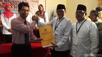 Diusung Golkar dan Hanura, Petahana Daftar ke KPU Kota Tegal